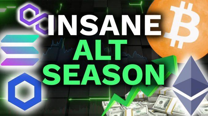 INSANE ALTCOIN SEASON BEGINNING! BTC Dominance collapse creates life changing opporutnity!