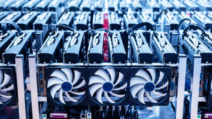 Riot's BTC production up 220% from last year