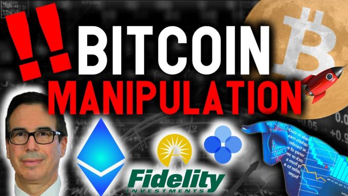 WARNING: YOU ARE BEING MANIPULATED OUT OF YOUR BITCOIN AND ETHEREUM! DONT BE FOOLED