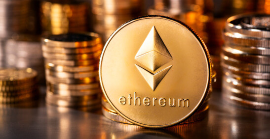 Ethereum price hits three week high above $2,400