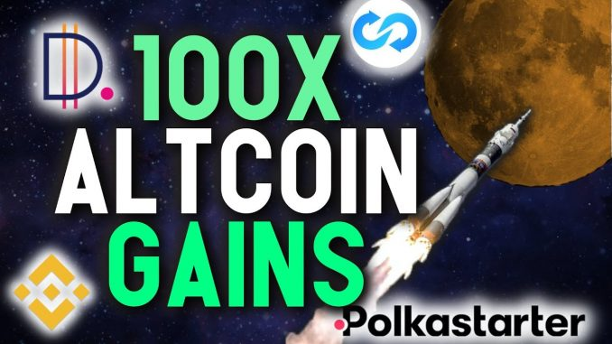 LIFE CHANGING GAINS!! How to get into the next 100X altcoin with launchpads