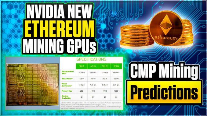 Nvidia's New Crypto Cards (CMP) on Crypto Mining   Crypto Thoughts