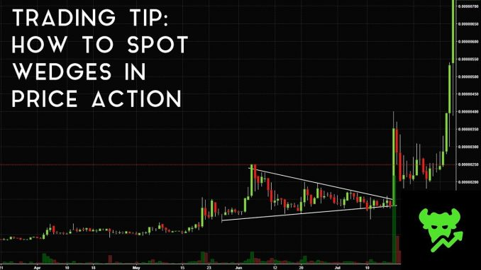 Trading Tip #8: How To Spot Wedges In Price Action