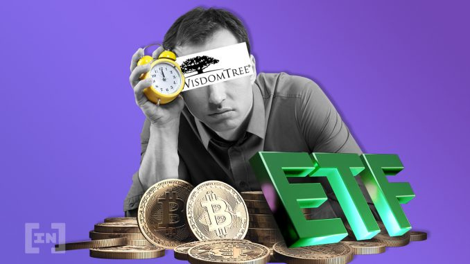 US SEC Pushes WisdomTree Bitcoin ETF Decision to Fall