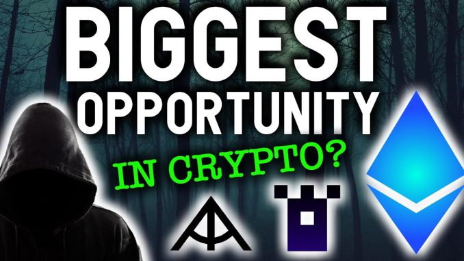 THE BIGGEST OPPORTUNITY IN CRYPTO THAT YOU NEVER HEARD OF