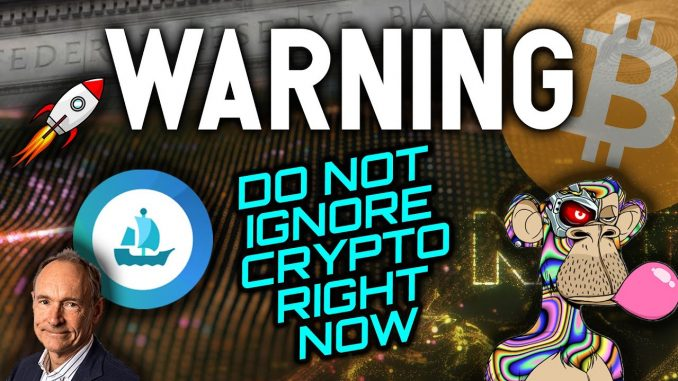 WARNING: DO NOT IGNORE CRYPTO RIGHT NOW! BEST OPPORTUNITIES EMERGING