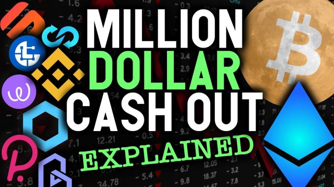 MILLION DOLLAR CASH OUT PLAN EXPLAINED! Simple guide on how and when to sell your cryptos
