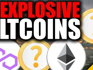 4 MOST Explosive Altcoins I LOVE Right NOW