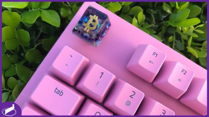 Bitcoin Artisan Keycap   #MCORIGINALS