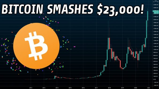 Bitcoin Rallies To $23,000!   Here's What You Need To Know