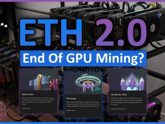 Ethereum 2.0... A Miner's Look In The Future