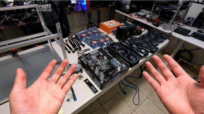 How To Build a RTX 3060 Ti Mining Rig (POV)