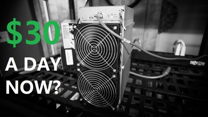 This ASIC Miner Makes $30 A DAY!